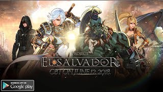MMORPG Project El Salvador Gameplay Android 2nd Beta Test
