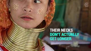 Thailand's Famous Long Neck Tribe People Don't Actually Have Long Necks At All