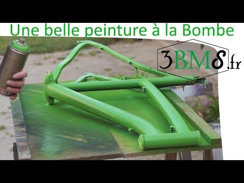 Projet vélo 3.1 / 4 : Tuto peinture à la Bombe comment repeindre un vélo ? - 0 - Comment repeindre un vélo ?