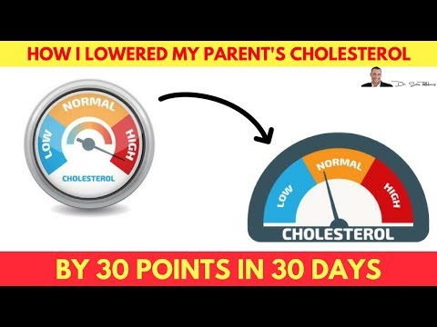 💓 How I Lowered My Parent's Cholesterol By 30+ pts in 30 days - NO diets, exercise or drugs