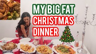COOKING CHRISTMAS DINNER FOR FRIENDS | DINNER PARTY VLOG 2019