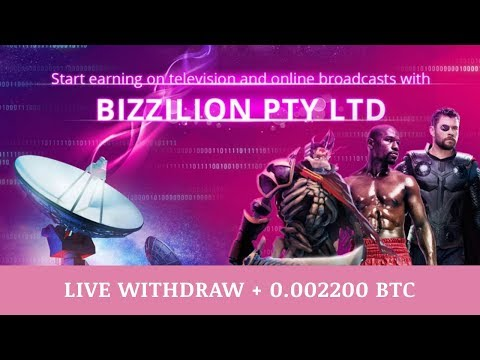 Bizzilion.com отзывы 2019, mmgp, 100% paying, Live Withdraw + 0 002200 BTC