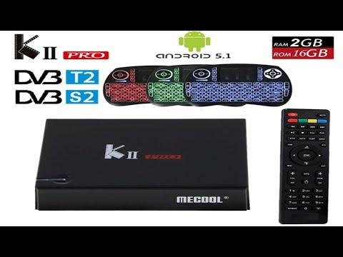 KII PRO DVB-S2 T2 Combo TV Box how to install Cccam - смотреть