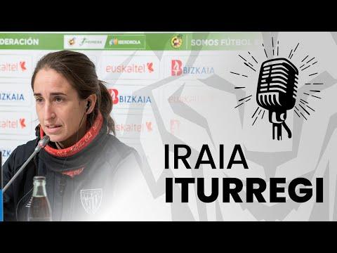 🎙️ Iraia Iturregi I pre Real Betis – Athletic Club I J18 Primera Iberdrola