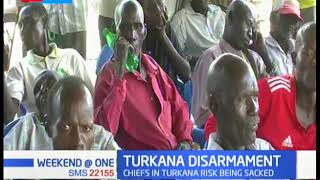 Chiefs risk sacking for failing to identify those carrying illegal firearms in Turkana