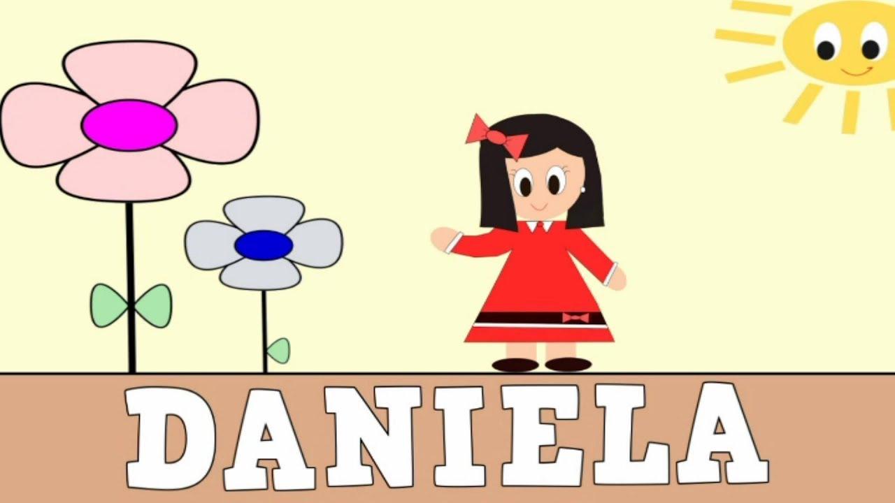 Aprender a leer y escribir DANIELA - Vídeos educativos para Niñosy Bebés - Paty y Poty