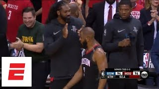 Rockets vs. Warriors Game 5: Pregame predictions, in-game highlights, postgame reactions | ESPN - Video Youtube