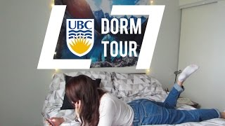 UBC DORM TOUR