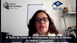 El Techo de Cristal en Universidades Públicas de México. Un Análisis Exploratorio