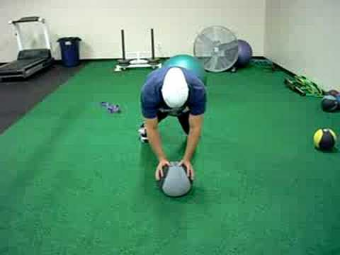 Depth Push-up (on medicine ball)