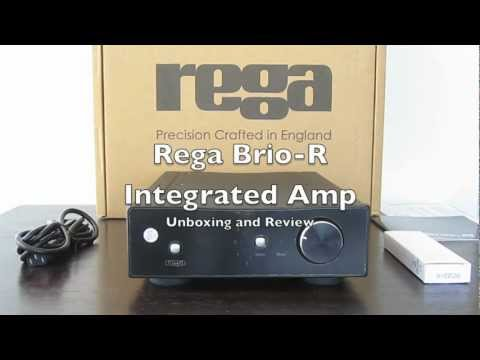 Rega Brio-R Integrated Amplifier Unboxing and Review