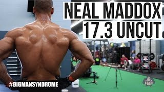 Neal Maddox Open Workout 17.3 (Uncut) - CrossFit Games - BigMan Media