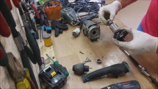 How to disassemble Bosch GBH 2-26 DFR rotary hammer drill sds+