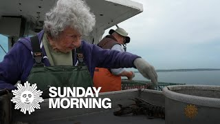 A 101-year-old lobster lady