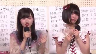 高倉萌香が号泣中井りかAKB48総選挙2017直後インタビュー柏木由紀NGT48