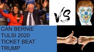 Bernie vs Tulsi Progressives Who Would You Rather 2020