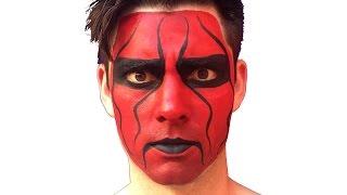 Wolf Pack Sting Facepaint Tutorial - WCW, WWE, TNA