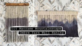 Testing Viral TIKTOK DIY s Dip Dying MacrameYarn Wall Hangin...