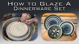 How To Glaze A Dinnerware Set