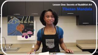 Art Trunk // Secrets Of Buddhist Art Lesson 1: Tibetan Mandala