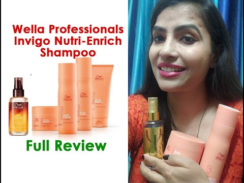 Wella Professionals Invigo Nutri-Enrich | Deep Nourishing | Hair Mask | Shampoo | Full Review