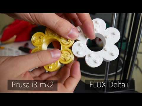 FLUX Delta+ 3D Printer Review – Part 1