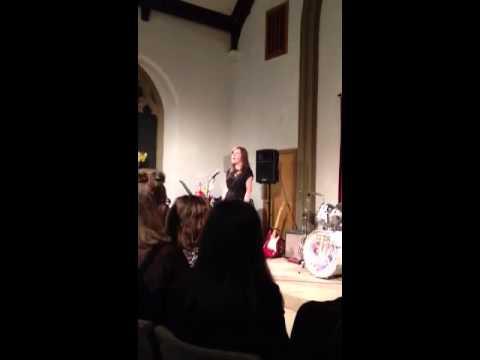 Elaine singing - on my own