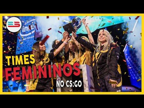 CONHEÇA OS TIMES DE CS:GO FEMININO!