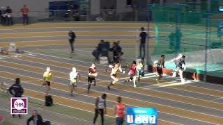 Aubière 2018 : Finale 60 m Espoirs M (Charles Renard en 6''78)
