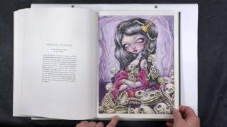 Review: Jasmine Becket Griffith Colouring Book.