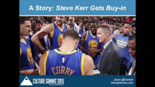 The 3 Keys to Motivating and Retaining Your Team with Jason Evanish - Culture Summit 2015