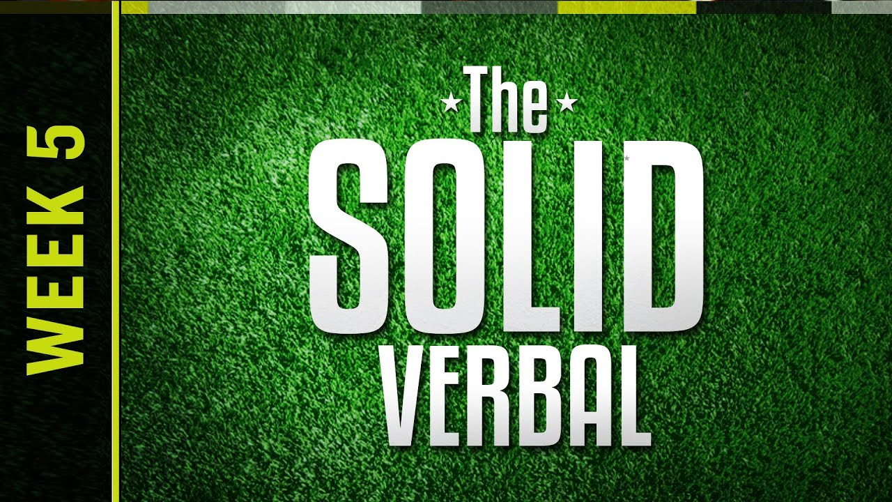 The Solid Verbal LIVE - College Football Week 5 thumbnail