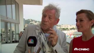 Cannes Lions: Tania talks diversity with Sir Ian McKellen (video)