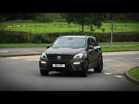 Brabus ML B63-700 Widestar - Acceleration sound!
