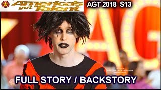 Oliver Graves Stand Up Comedian FULL STORY OR BACKSTORY America's Got Talent 2018 Audition AGT