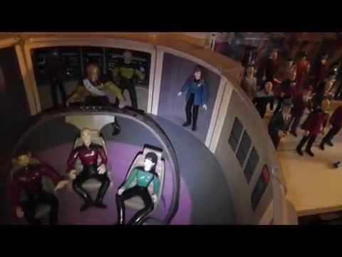 Star Trek Action Figuren Sammlung