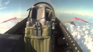 F-16 Fighting Falcons Flys Without Pilot