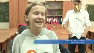 Новогодняя квест-ярмарка прошла сегодня в сочинской 10-ой школе