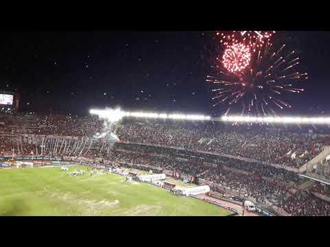 """""""Recibimiento al campeón-river plate vs Belgrano"""" Barra: Los Borrachos del Tablón • Club: River Plate"""