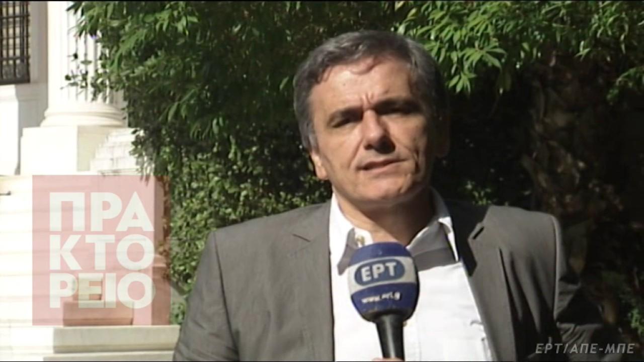 Ευ. Τσακαλώτος: Υπάρχουν τα πρώτα σταθερά βήματα εμπιστοσύνης προς την ελληνική οικονομία