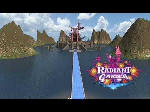 Radiant Garden (Kingdom Hearts Birth By Sleep) Minecraft Project
