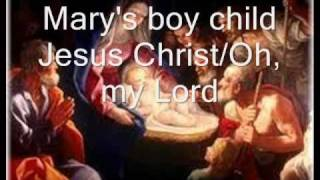 Mary's boy child - Oh, my Lord with lyrics