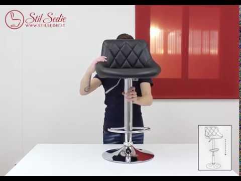 Enki guida al montaggio dello sgabello da bar Stil Sedie Stool Assembly Instructions