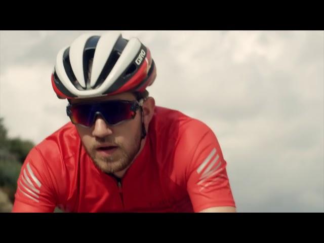 Видео Велотуфли Giro Empire E70 Knit серо-желтые
