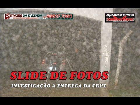 Slide de fotos da investigação entregamos a cruz