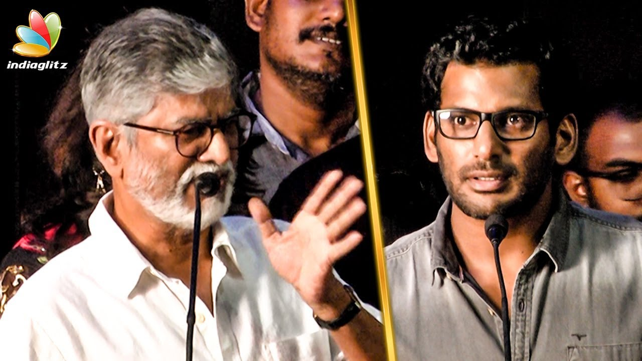 பேசுறது முக்கியம் இல்ல : SA Chandrasekhar Request for Vishal | Nungambakkam Trailer Launch