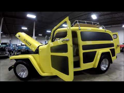 1950 Willys Utility Wagon for Sale - CC-1057668