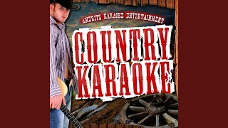You're the First Time I Thought About Leaving (In the Style of Reba McEntire) (Karaoke Version)
