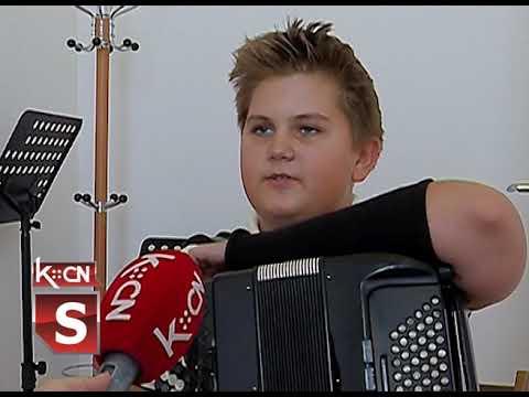 Uspeh mladog harmonikaša