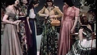 Vintage 1940's Fashion - Evening Dresses